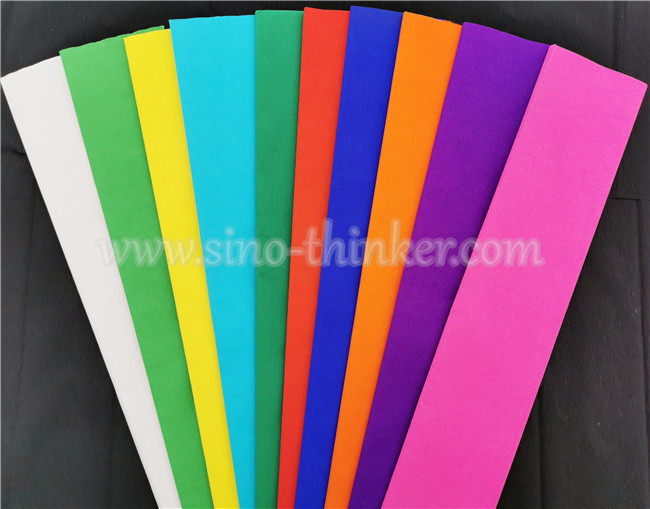 Color Crepe Paper