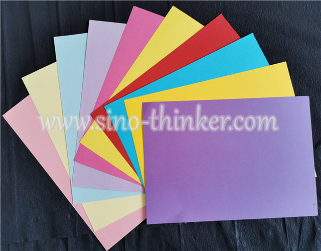 Color Card Paper ( in pulp)