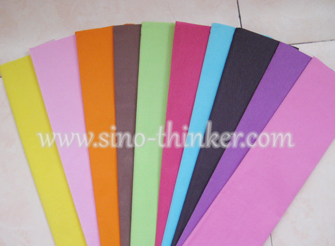 Solid Color Crepe Paper